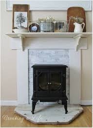 mock fireplace surrounds