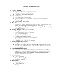 Sample Business Plan Outline Template 24 Business Plan Proposal Template Project Proposal 4