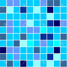 Seamless tiles background different shades of blue colour Stock Photo -  3905038