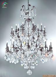 wrought iron crystal chandelier iron and crystal chandelier chandelier enchanting wrought iron crystal chandelier large wrought