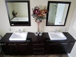 dual vanity bathroom:  creative creative double vanity bathroom ideas contemporary bathroom contemporary bathroom