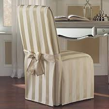 united curtain madison dining room chair cover 19 by 18 by 39 inch