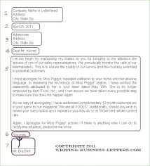 Proper Business Email Format Example Sample Letter Cover Newbloc