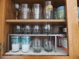 image of organizing the kitchen cabinets