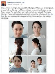 rom makeup hairdo zl hanna korean makeup artist