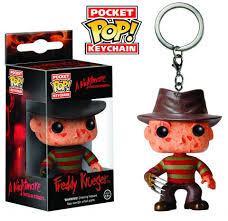 Key Chain: Horror Movies - <b>Freddy Kruger</b> Pocket <b>Pop</b> Vinyl ...