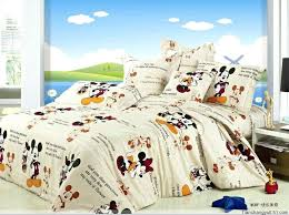 mickey minnie bedding sets amazing mickey beige bedding set for teens kids reversible with regard