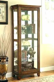 black curio cabinet wood s decorating black curio cabinet with glass doors lovely wood s black wall hanging curio cabinet