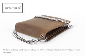 Designer Rfid Wallets Kings Tailor Designer Rfid Blocking Mens Leather Wallet And