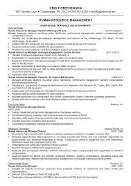 Human Resource Management Resume Examples Human Resources Generalist ...