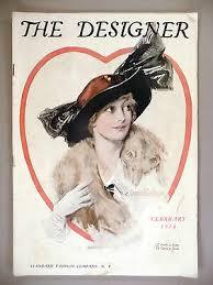 The Designer Magazine - February, 1914 -- Corinne Dillon cover -- fashion    eBay