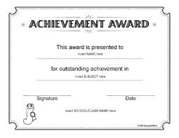 Award Certificate Template Preschool New Sample Certificate For ...