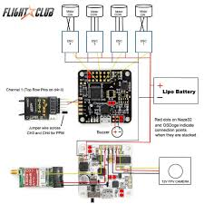 learn how to build a lumenier qav250 quadcopter flightclub fpv basic schematic for our qav250 build osdoge