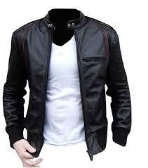 handmade custom new men black with red lining leather jacket men leather jacket leather jacket for men biker leather jacket motorcycle jacket
