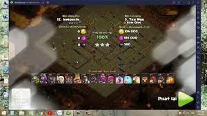 COC LAPTOP - Clan war Clan Xóm Đồn vs Clan Hàn Quốc - Thắng vật vã  40-38