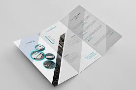catalog template free creative trifold brochure template free design resources