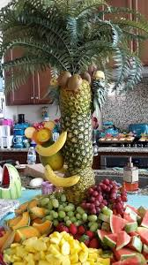 Fresh Fruit Palm Trees  Chocolate Fountain HireFresh Fruit Tree Display
