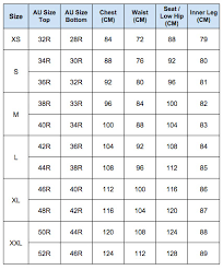 Hm Size Chart Credible H M Size Chart Outerwear 2019
