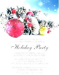 Sample Of Christmas Party Invitation Christmas Party Invitation Verbiage Sepulchered Com