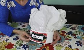 How To Make Hat With Chart Paper Chef Hat Crafts For Kids Pbs Kids For Parents
