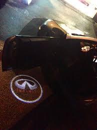 Infiniti G35 Door Light Logo Infiniti Door Light Logos