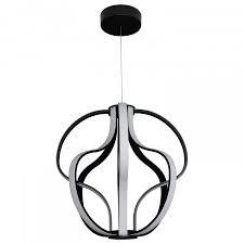 capella vmc32430bl modern globe led chandelier