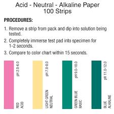 Acid Neutral Alkaline Test Paper Precision Laboratories