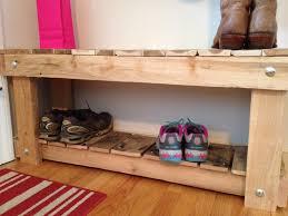 pallet shoe rack plans