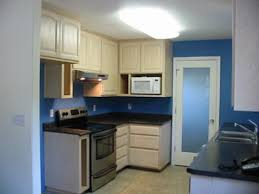 painting kitchen wallsKitchen Painting Idea Cobalt Blue Color on the Walls
