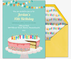 Design Your Own Birthday Party Invitations Free Birthday Invitations Send Online Or By Text Evite