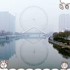 2021但是冬天的天津,景色确实差一些。顺便看看天津风景!尤其是拍照,简直是自动的黄金比例分割线~这是近照_天津之眼摩天轮-评论-去哪儿攻略