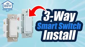 Ge Smart Switch No Blue Light Diy 3 Way Switch Ge Leviton Z Wave Smart Switch Installation For Your Wink Smart Home Automation