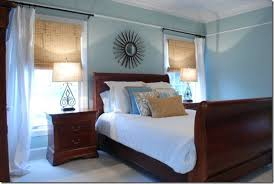 Blue Brown Bedroom Sweet Chaos Design