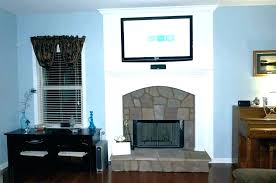 mount tv on brick fireplace hide wires mounting on brick fireplace mounting above brick fireplace hide mount tv on brick fireplace hide wires
