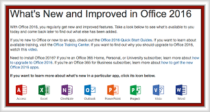 Microsoft Office 2016 Introduction Information Technology