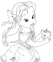 Cute Princess Coloring Pages To Print Digi Art Free Princess