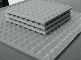 image zoom acoustic noise insulation melamine foam panel sound insulating cavity walls