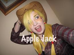 filly fridays my little pony makeup apple jack inspired cosplay you