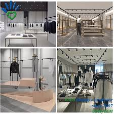 Interior Design For Menswear Hot Item High Quality Menswear Clothing Retail Shop Garment Store Interior Design For Clothes Display