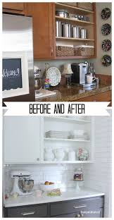 Painted Kitchen Cupboard Painting Kitchen Cupboards Painting Old Kitchen Cabinets White
