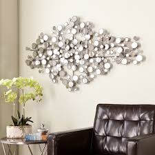 Metal Wall Decorations For Living Room Harper Blvd Olivia Mirrored Metal Wall Sculpture 15994538