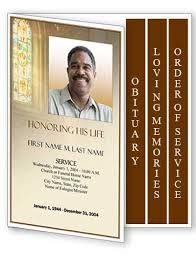 Memorial Pamphlet Template Free Memorial Service Program Template Funeral Program Template Word