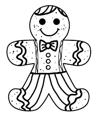 Small Picture Free Christmas Coloring Pages Gingerbread Man Coloring Sheets