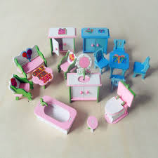 kids dollhouse furniture. beautiful furniture wooden pink doll house furniture children pretend play toys for girls  miniature rooms gifts kids and dollhouse n