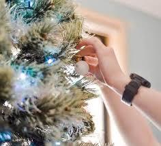 christmas tree ping at pine concept
