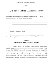 template for llc operating agreement operating agreement template partnership operating agreement