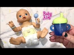 Baby Alive Wets n Wiggles Boy Doll Sherlock Drinks Blueberry Juice ...
