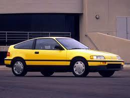 1990 Honda Civic CRX Si - Fourth Generation (1988 - 1991) #Honda ...