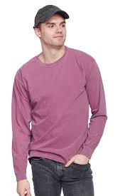 Comfort Colors Garment Dyed Heavyweight Long Sleeve T