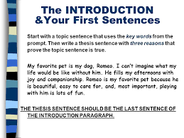 the five paragraph essay a framework for expository writing ppt  8 start